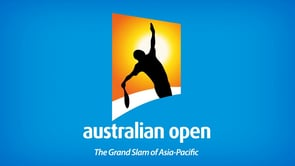 Australian Open Serving Man